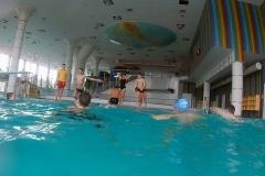 Pravidelné tréninky na bazénu