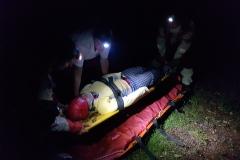 Modelové zdravotnické situace ve ztížených podmínkách - noc