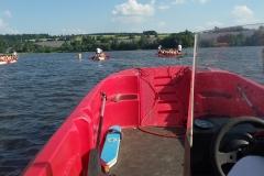 Závody dračích lodí 2016 VD Seč - Ústupky