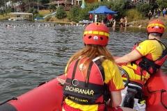 Závody dálkových plavců 2017 Mělice